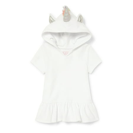 Infant Hooded Cover Up (Unicorn Hooded Cover-Up (Baby Girls & Toddler)