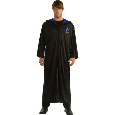 Harry Potter Ravenclaw Robe Adult Halloween Costume, Size: Men's - One - Funny Mens Costume Ideas Halloween