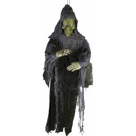 Witch 6' Poly Foam Prop Halloween Decoration - Witches For Halloween Decorations