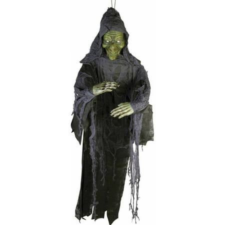 Witch 6' Poly Foam Prop Halloween Decoration