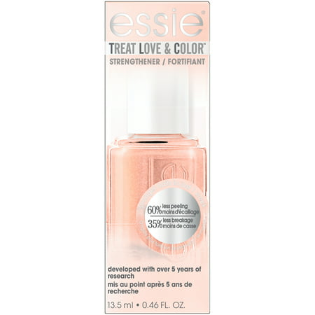 essie Treat Love & Color Nail Polish & Strengthener, Tonal Taupe (Shimmer Finish) 0.46