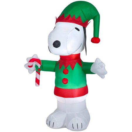Holiday Time Yard Inflatables Peanuts: Snoopy, 5 ft ()