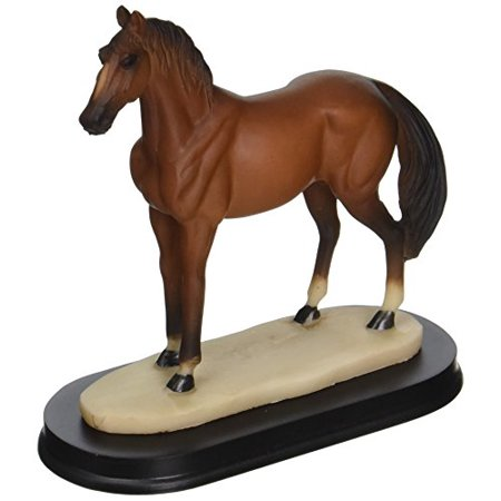 StealStreet SS-G-11414 Horses Collection Brown Horse Figurine Decoration Decor Collectible