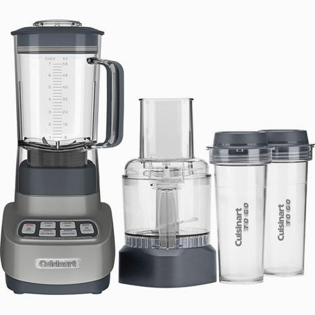 Cuisinart Velocity Ultra Blender/Food Processor, Gun Metal BFP-650GM
