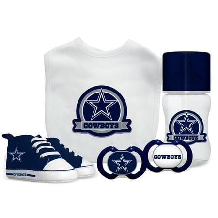 buy online 85310 2f87b NFL Dallas Cowboys 5-Piece Baby Gift Set