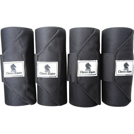 Standing Wrap Bandage, Easy to apply and remove for a secure fit By Classic Equine
