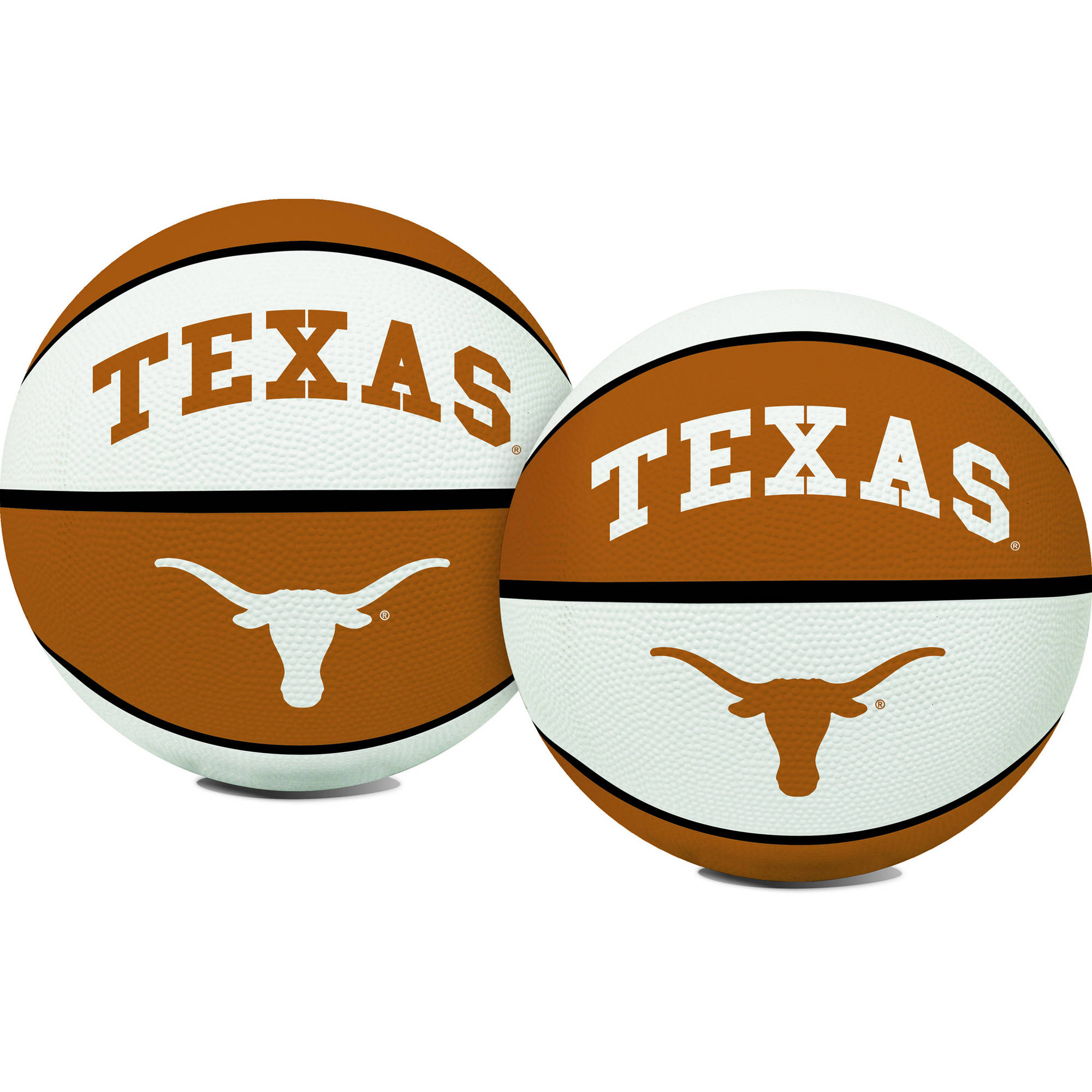 Rawlings NCAA Crossover Full Size Basketball University Of Texas Austin Longhorns