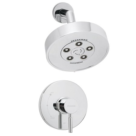 Neo Angle Shower Unit - Speakman SM-1010-P Neo Shower Combination System