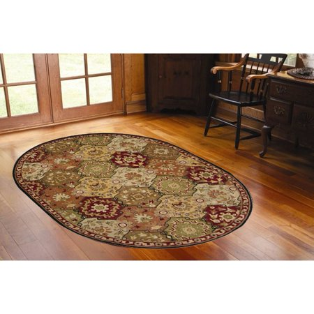 Surya Carpet Inc Hand Tufted Coliseum Wool Area Rug 6 X 9 Oval