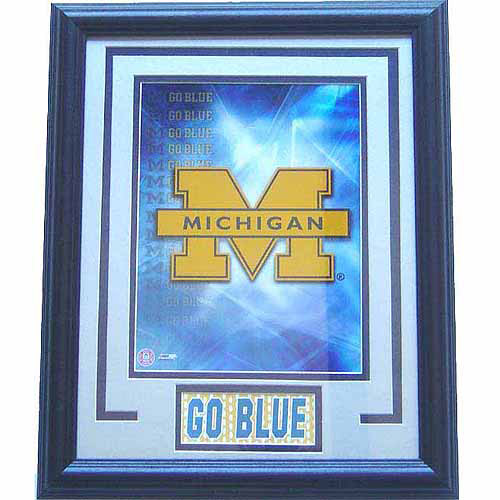 NCAA 11x14 Deluxe Photo Frame, University of Michigan