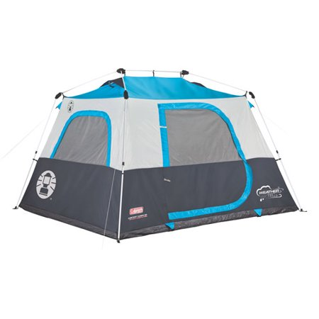 Coleman 6 Person Double Hub Instant Cabin Tent Walmart Com