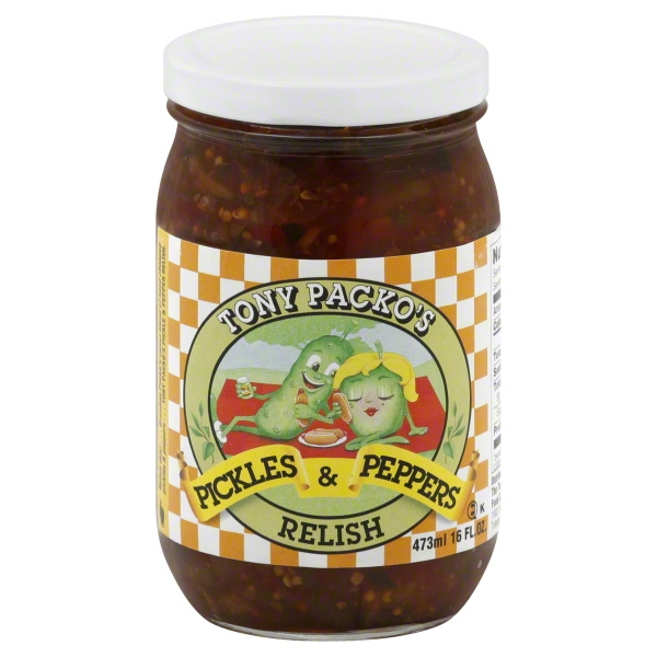 Tony Packo Food Tony Packos  Relish, 16 oz