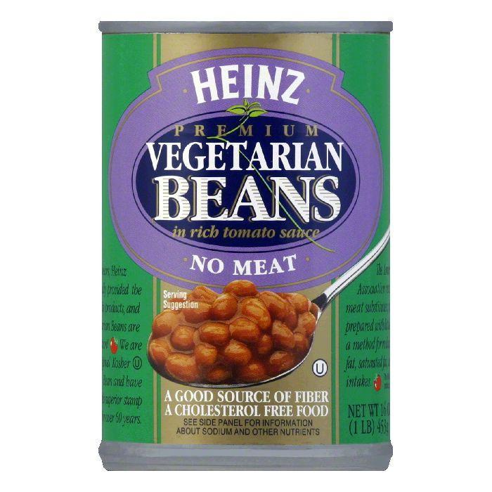 Heinz Vegetarian Bean Tomato Sauce, 16 OZ (Pack of 12)