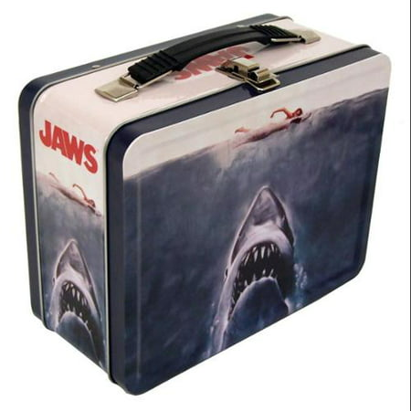 Jaws No Swimming Retro Metal Lunchbox ()
