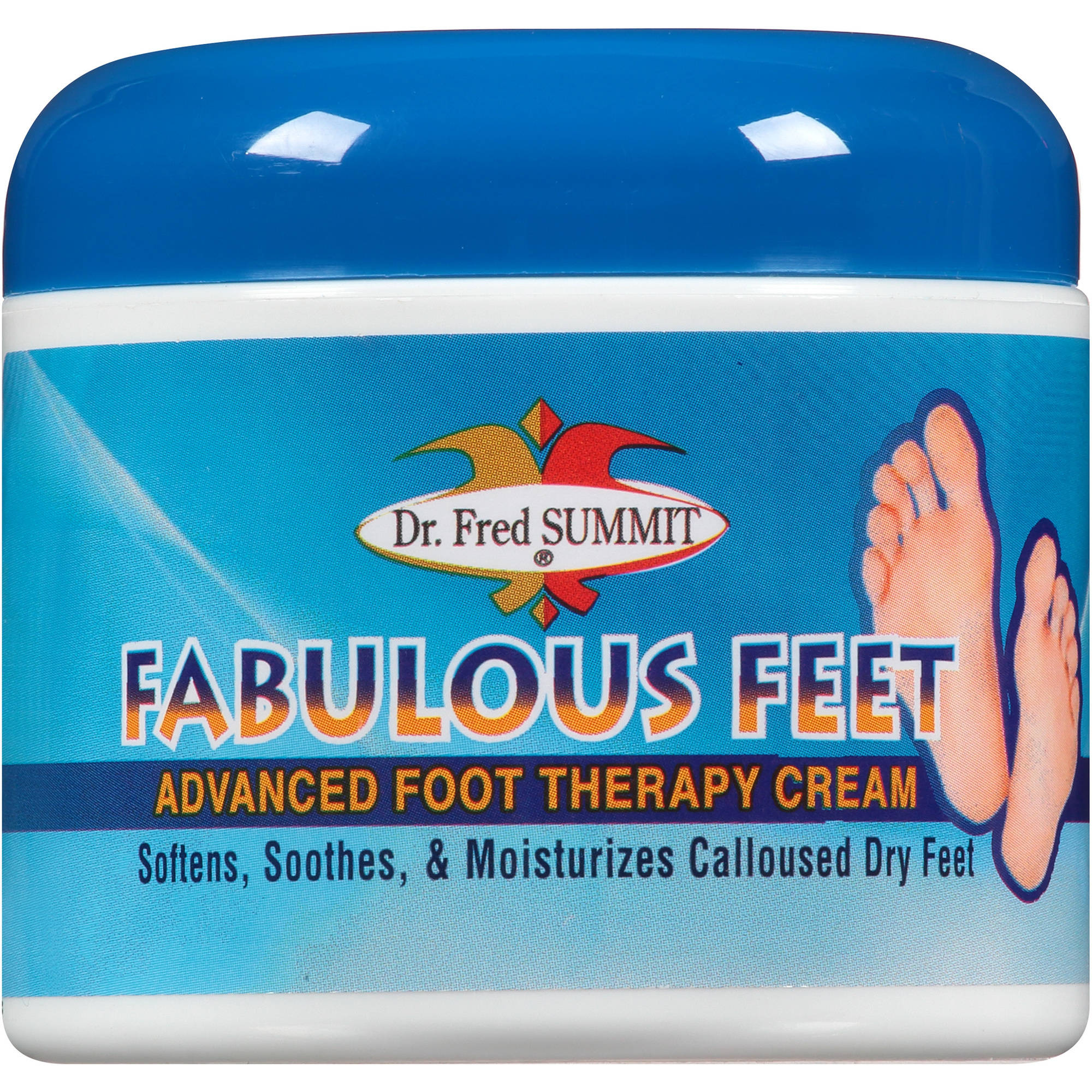 Dr. Fred Summit Fabulous Feet Advanced Foot Therapy Cream, 4 oz ...