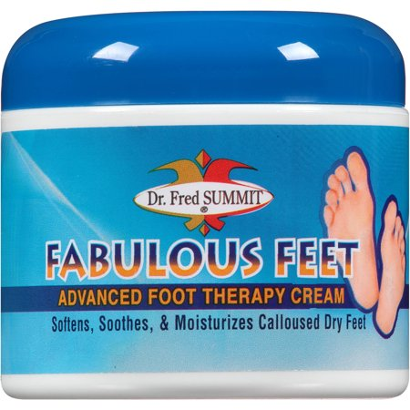 Dr. Fred Summit Pieds Fabulous avancée Foot Therapy Cream, 4 oz