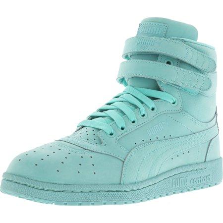 eecfd1421977 Puma - Puma Men s Sky Ii Hi Nbk L Aruba Blue Ankle-High Suede Fashion  Sneaker - 11.5M - Walmart.com