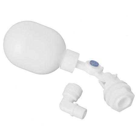 Greensen Adjustable Float Valve,Mini Plastic Adjustable Float Valve For Aquarium RO DI Reverse Osmosis System,Mini Float Valve - image 6 of 8