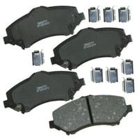 Carquest Wearever Gold Ceramic Brake Pads - Front (4-Pad Set)