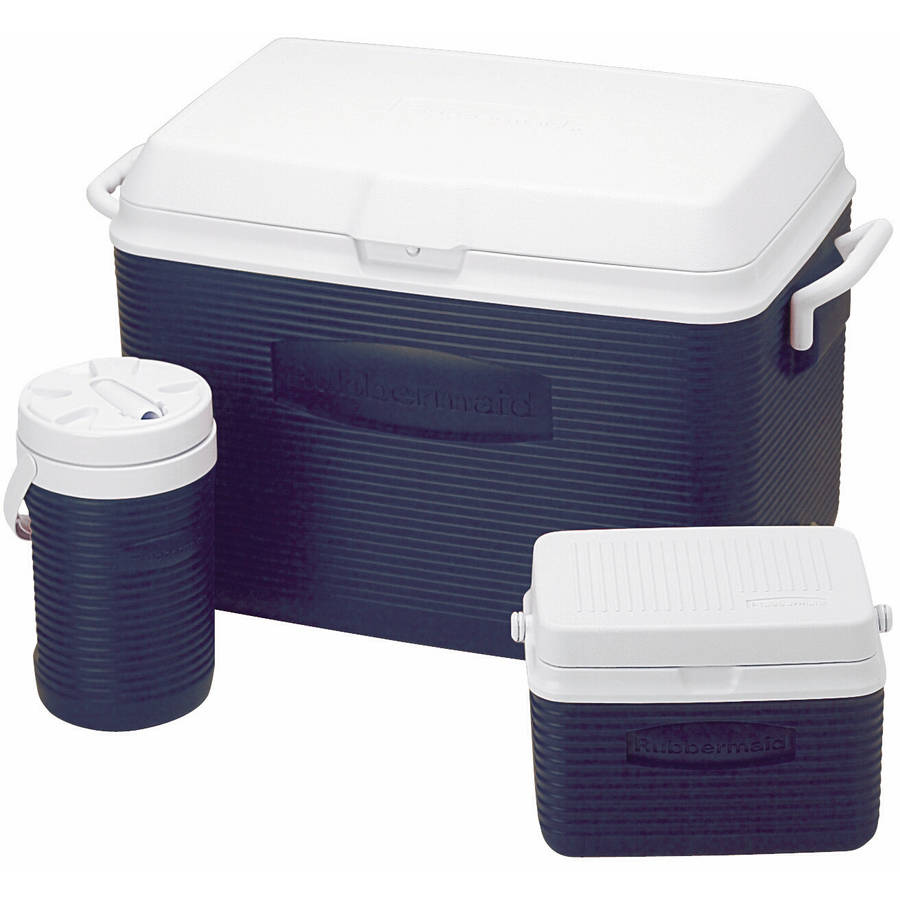 Rubbermaid 48 qt Cooler Value Pack