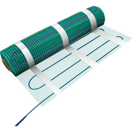 Warmly Yours  41 Sq.ft 120 Volts Electric Floor Heating Flex Roll - For under tile, stone, hardwood and LVT