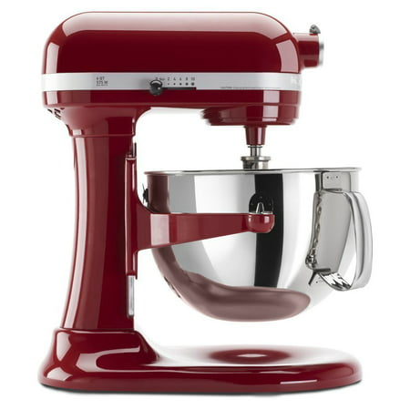 KitchenAid RRKP26M1XER 6 Qt. Professional 600 Series Bowl-Lift Stand Mixer - Empire Red (CERTIFIED