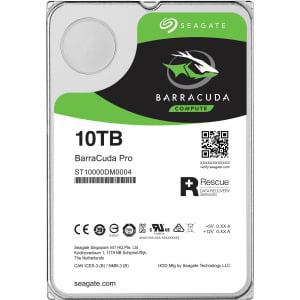 Seagate 10TB BARRACUDA PRO SATA 7200 RPM 256MB 3.5IN