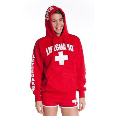 eccaa3557e4ba Lifeguard - FLG-755-R-S Womens Hoodie Sweatshirt Authentic Small Red -  Walmart.com