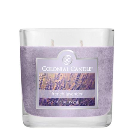 Fragranced in-line Container CC035.1342 3.5oz. Oval French Lavender Candles - Pack of 6