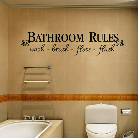 Outtop Removable DIY Wall Sticker Mural Home Decal Decor For Bathroom