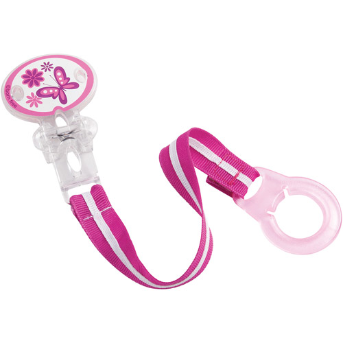 Born Free Bliss Pacifier Holder, Butterfly, BPA-Free