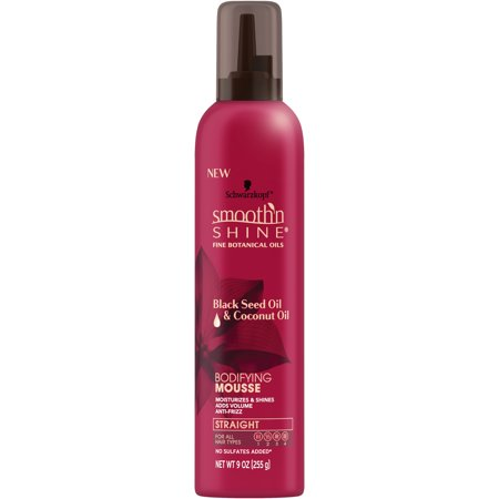 Smooth 'n Shine Straight Bodifying Mousse, 9 (Best Mousse For Scrunching Straight Hair)