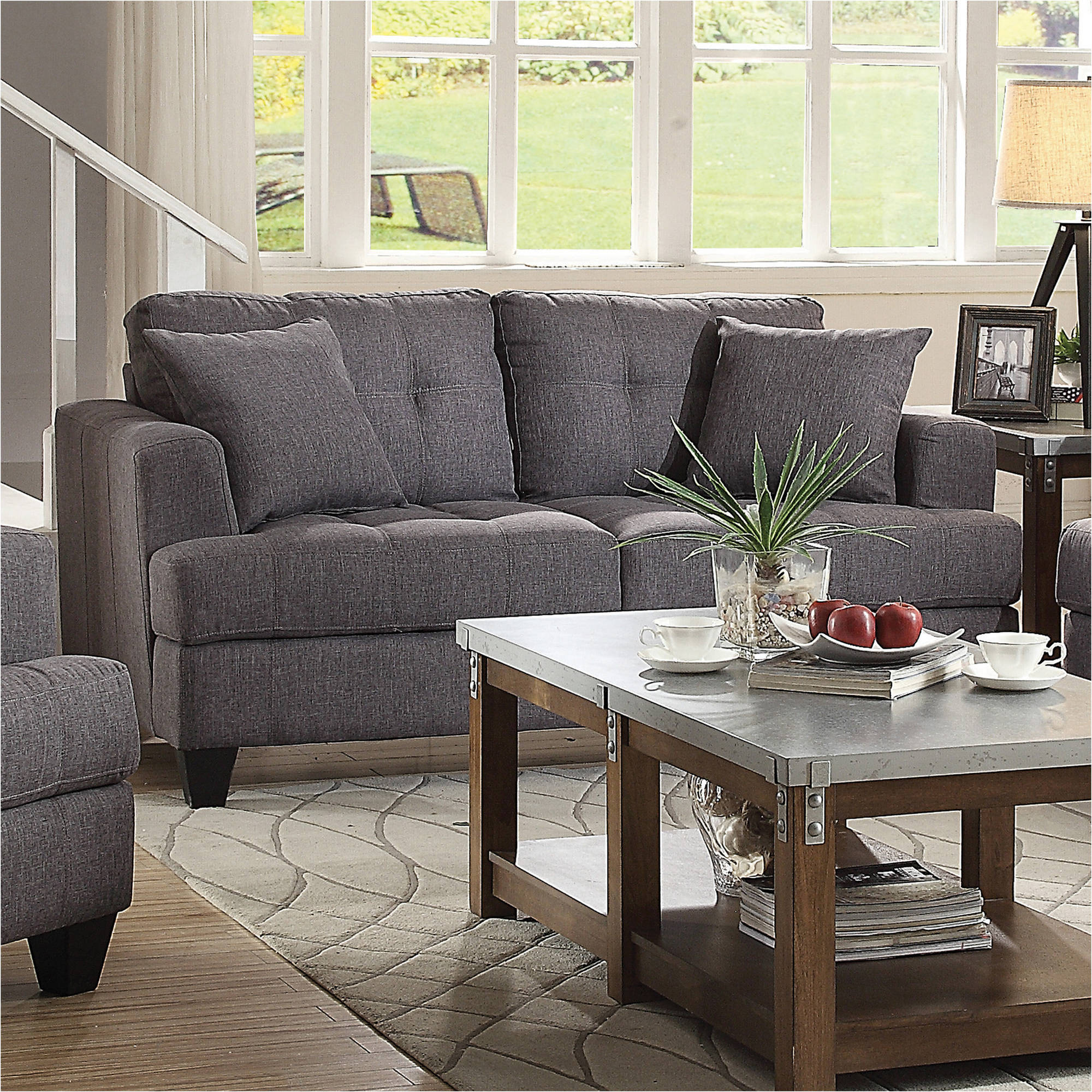 Coaster Samuel Transitional Loveseat, Multiple Colors