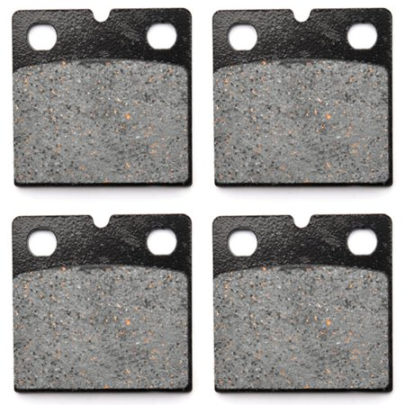 KMG Front Brake Pads for 1980-1984 BMW R 100/7T (Cast wheel) - Non-Metallic Organic NAO Brake Pads Set - image 4 de 4