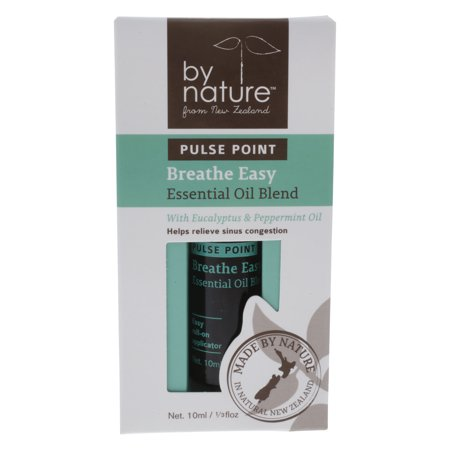 By Nature Pulse Point Breathe Easy Essential Oil Blend