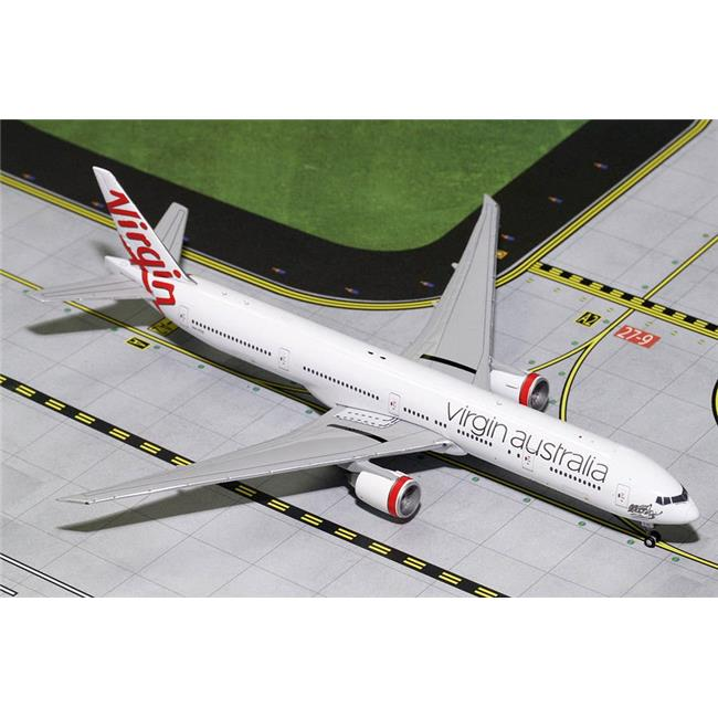 Gemini Jets Virgin Australia B777-300ER VH-Voz 1:400 Scale Diecast Model Airplane Die Cast Aircraft