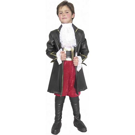 Child Deluxe Captain Morgan Costume Charades 481