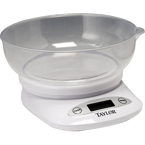 taylor 4.4 lbs. digital kitchen food scale - walmart