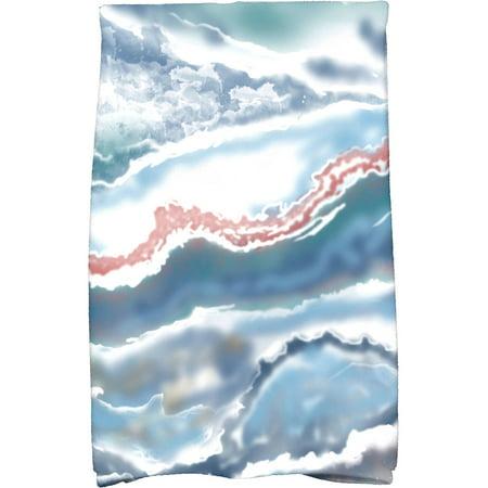 "Simply Daisy 16"" x 25"" Remolina Geometric Print Kitchen Towel"