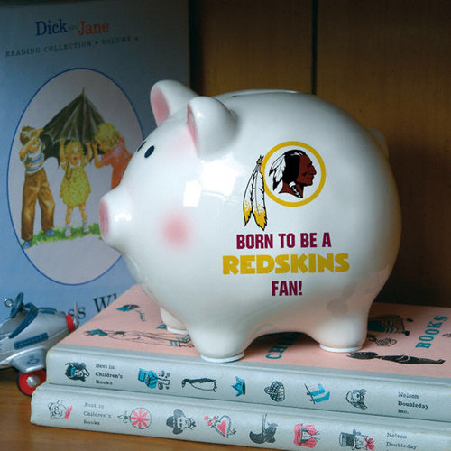 NFL - Born to Be Washington Redskins Fan Piggy Bank