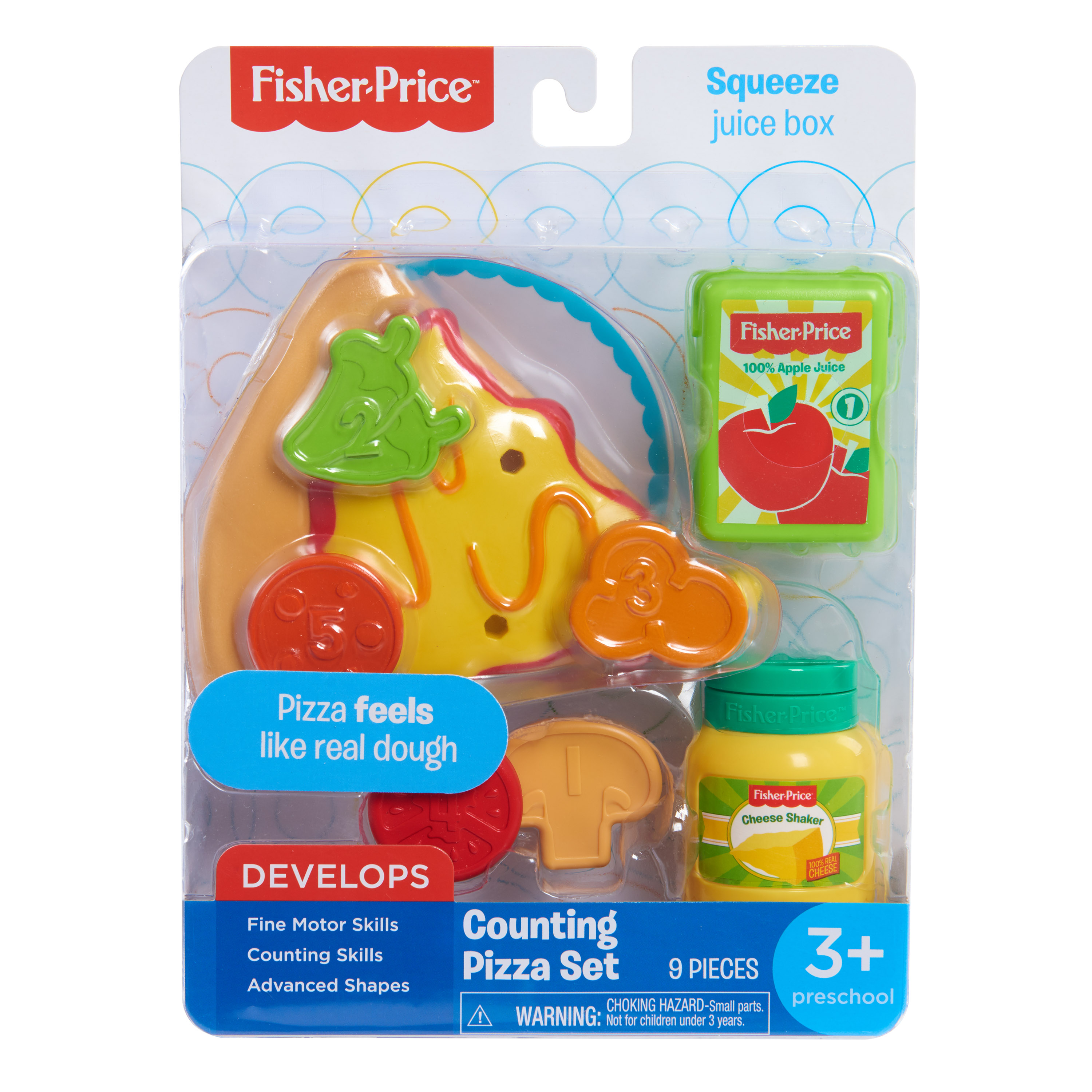 Fisher Price Carded Food Set- ASST- styles may vary