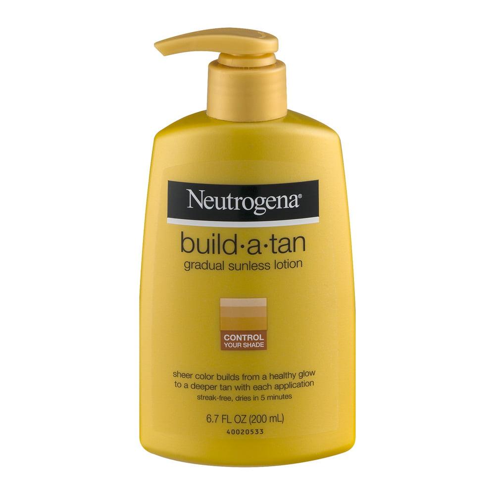Neutrogena Build-A-Tan Gradual Sunless Lotion, 6.7 FL OZ