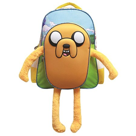 Adventure Time Jake the Dog 3D Backpack - Jake And The Neverland Pirates Backpack