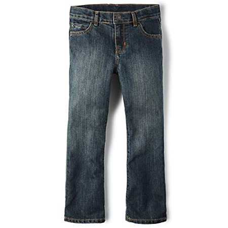 The Children's Place Boys Slim Bootcut Jeans Dust Bowl Wash