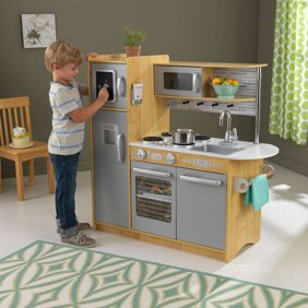 Melissa Doug Chef S Kitchen Pretend Play Set Charcoal