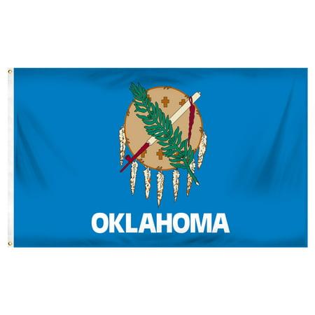 Oklahoma 3ft x 5ft Printed Polyester Flag
