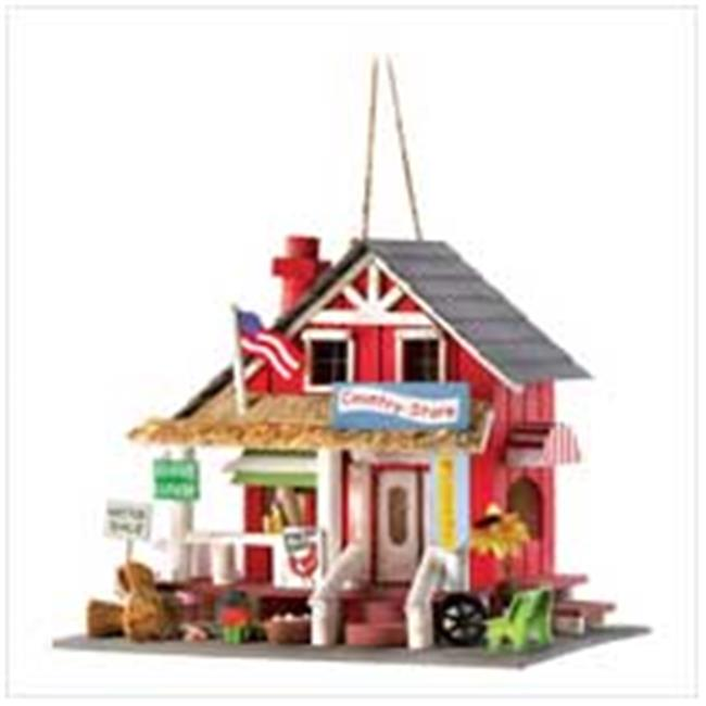 Zingz & Thingz 57070132 Country Store Birdhouse with Rustic Charm by Zingz & Thingz