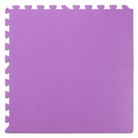 "We Sell Mats 12"" Interlocking Foam Floor Mat, 72 Sq Ft (72 Tiles), Purple"