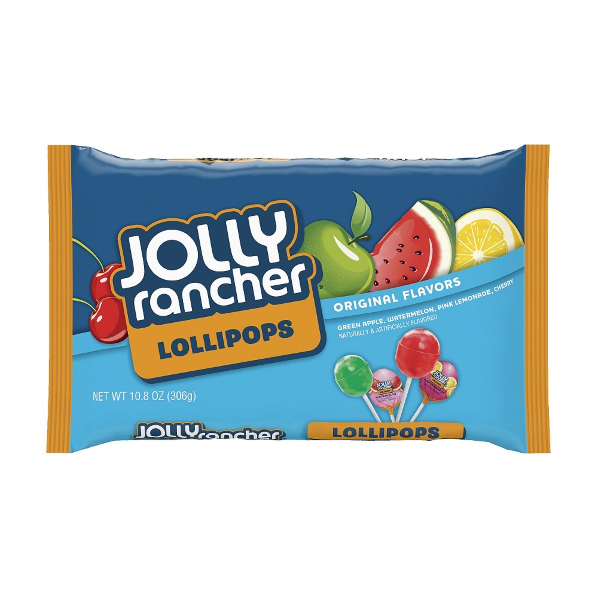 (2 Pack) JOLLY RANCHER Lollipops Assortment, 10.8 Ounces