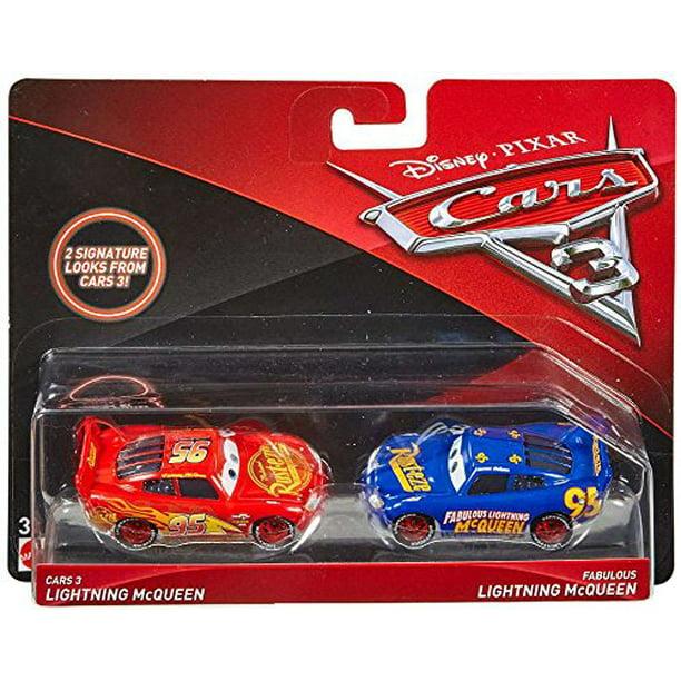 Disney Pixar Cars 3 Lightning Mcqueen And Fabulous Lightning